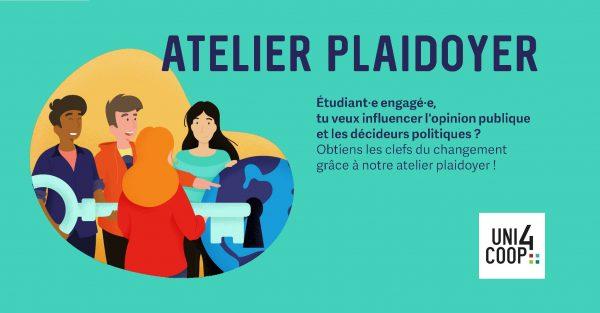 Atelier Plaidoyer