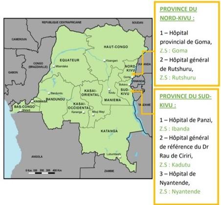 Zone Géographique Projet Humatem