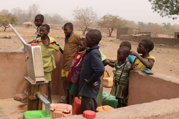 Burkina Pompe à motricité humaine